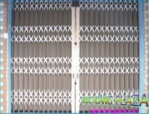 Làm cửa cổng sắt 4 cánh đẹp tại TP HCM