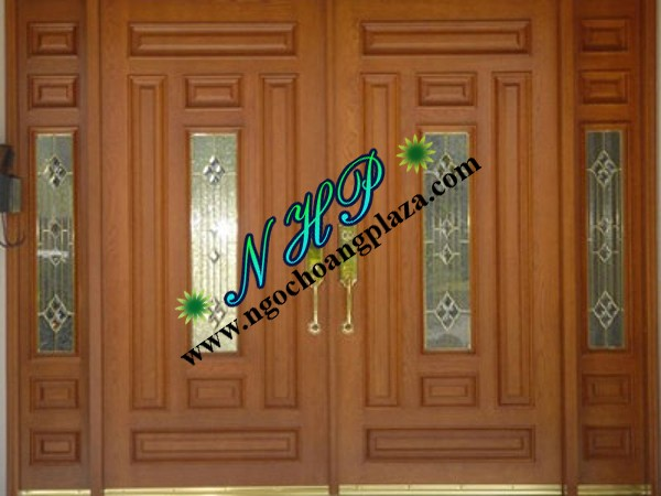 Làm cửa sắt giả gỗ giá rẻ