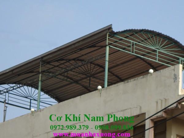 Vai trò của mái tôn vòm sân thượng