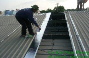 Thợ làm mái tôn tại quận 3 trọn gói