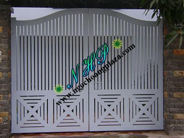 Mẫu cửa cổng sắt cao cấp giá rẻ