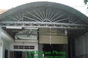 Làm mái che sân thượng tại TPHCM