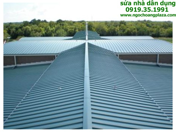 Làm mái tôn nhà xưởng tại TP HCM