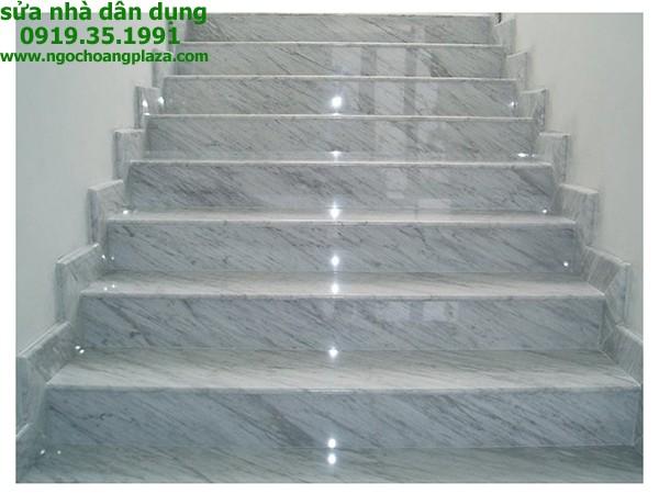 Ốp lát đá cầu thang tại tphcm