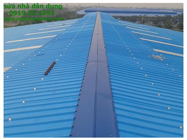 Sửa chữa mái tôn tại TP HCM