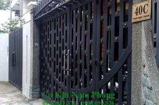 Thi công cửa cổng sắt giá rẻ tại tphcm