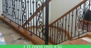 Dịch vụ làm cầu thang sắt giá rẻ, mẫu mã đẹp