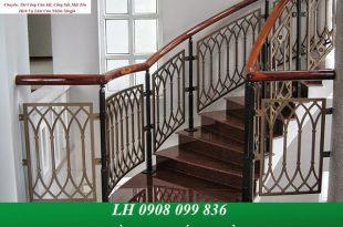 Dịch vụ làm cầu thang sắt tại đồng nai giá rẻ, chuyên nghiệp