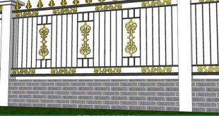 Dịch vụ làm hàng rào sắt tại đồng nai giá rẻ